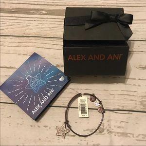 Alex and Ani shine bright bracelet
